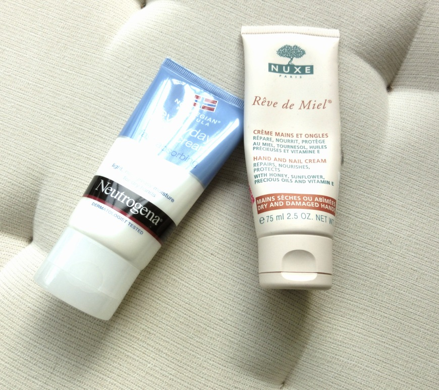 Nuxe and Neutrogena -