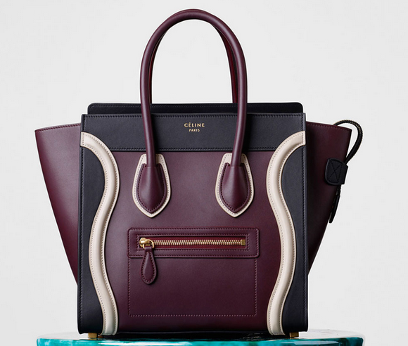 celine mini luggage fall winter 2015 -3