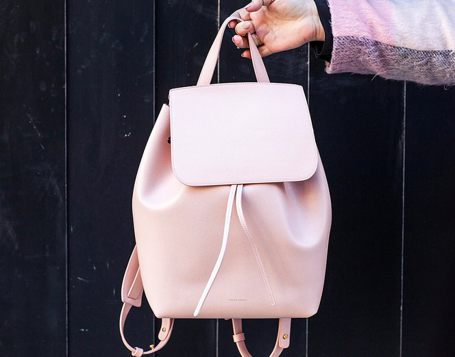mansure-gavriel-pink-backpack