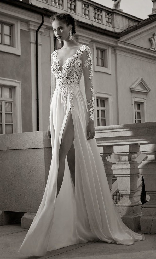 Sexy-Sophisticated-High-Slit-Wedding-Dresses-2016