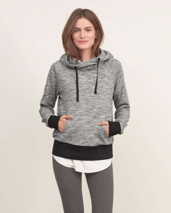 A&F Crossover Hooded Sweatshirt