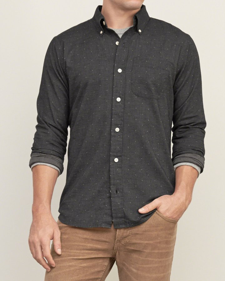 A&F Muscle Fit Shirt