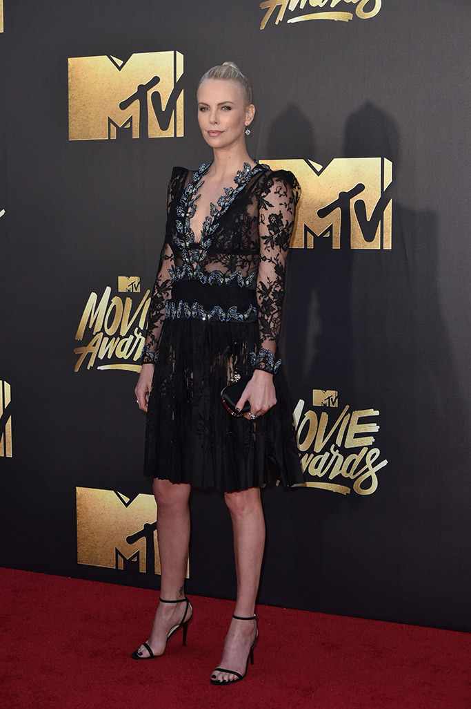 Charlize Theron MTV Award 2016