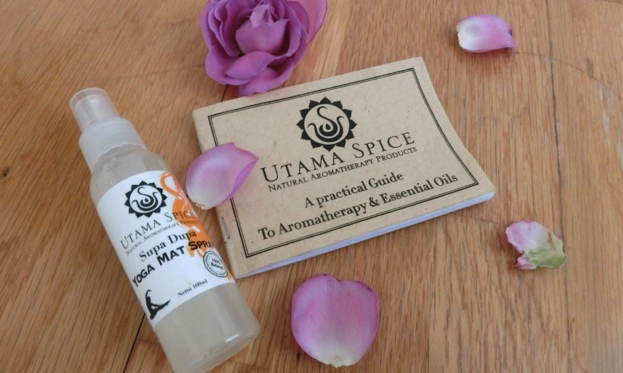Utama Spice yoga mat spray