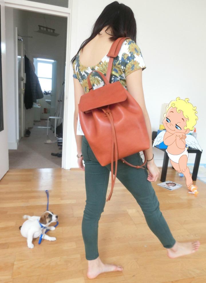 mochi mansur gavriel mini backpack