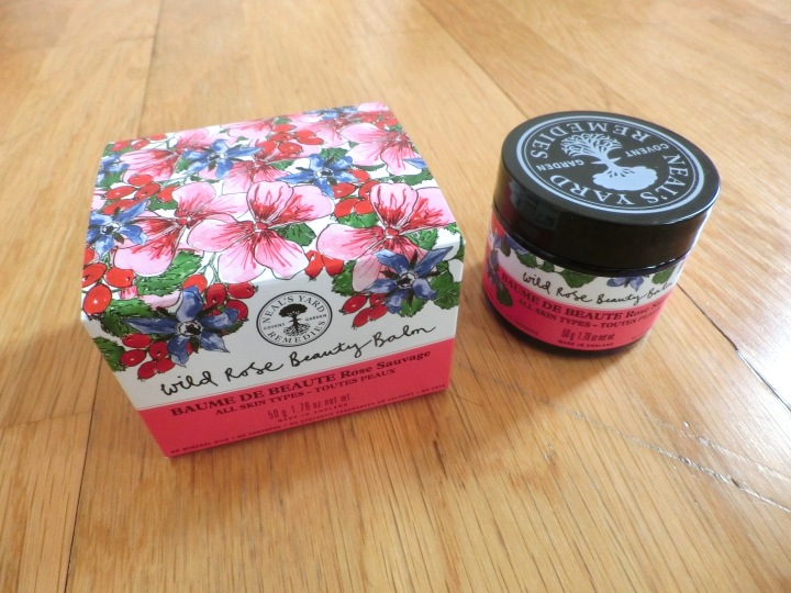 neals yard wild rose beauty balm unbox
