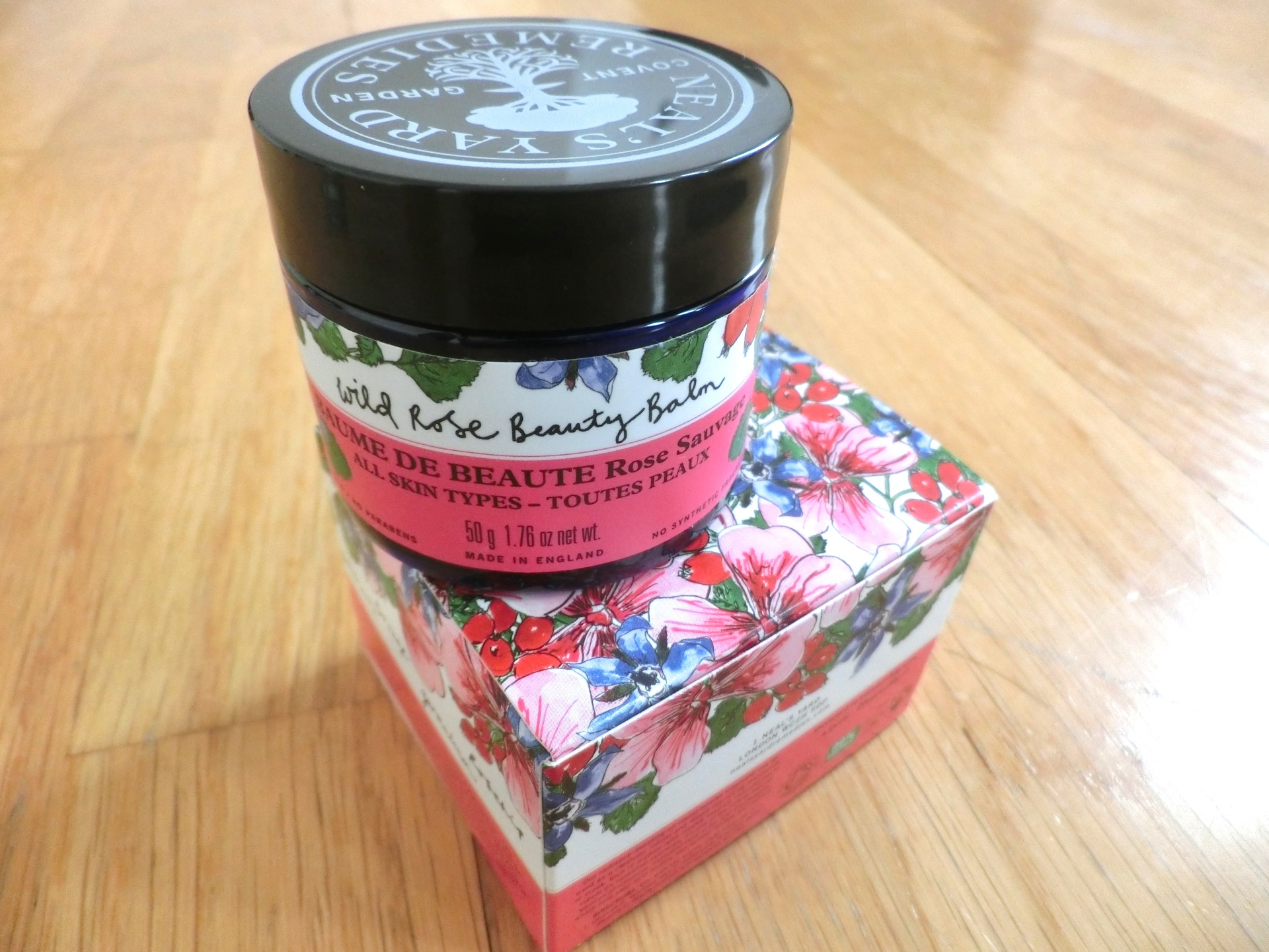 neals yard wild rose beauty balm