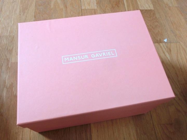 pinkbox mansur gavriel mini backpack