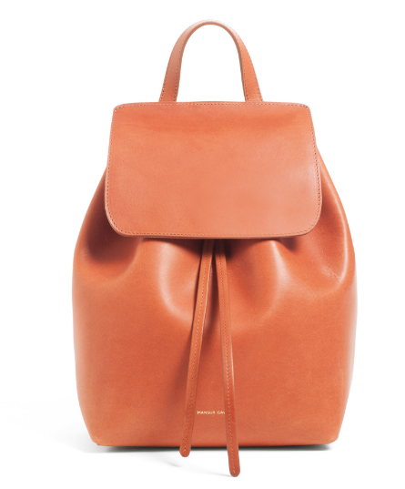 Mini backpack Mansur Gavriel in Raw colour