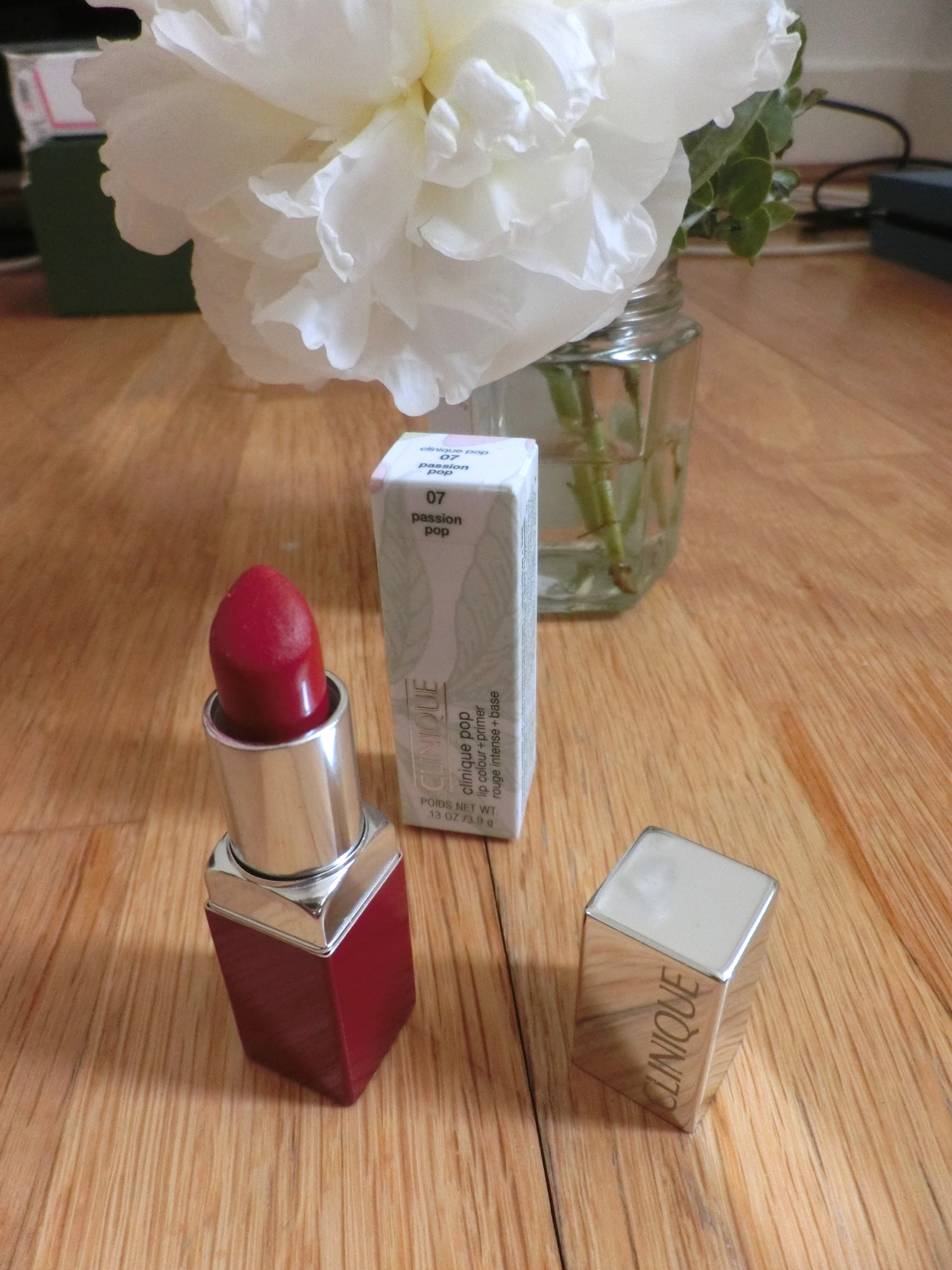 clinique passion pop 07 pop lip color and primer