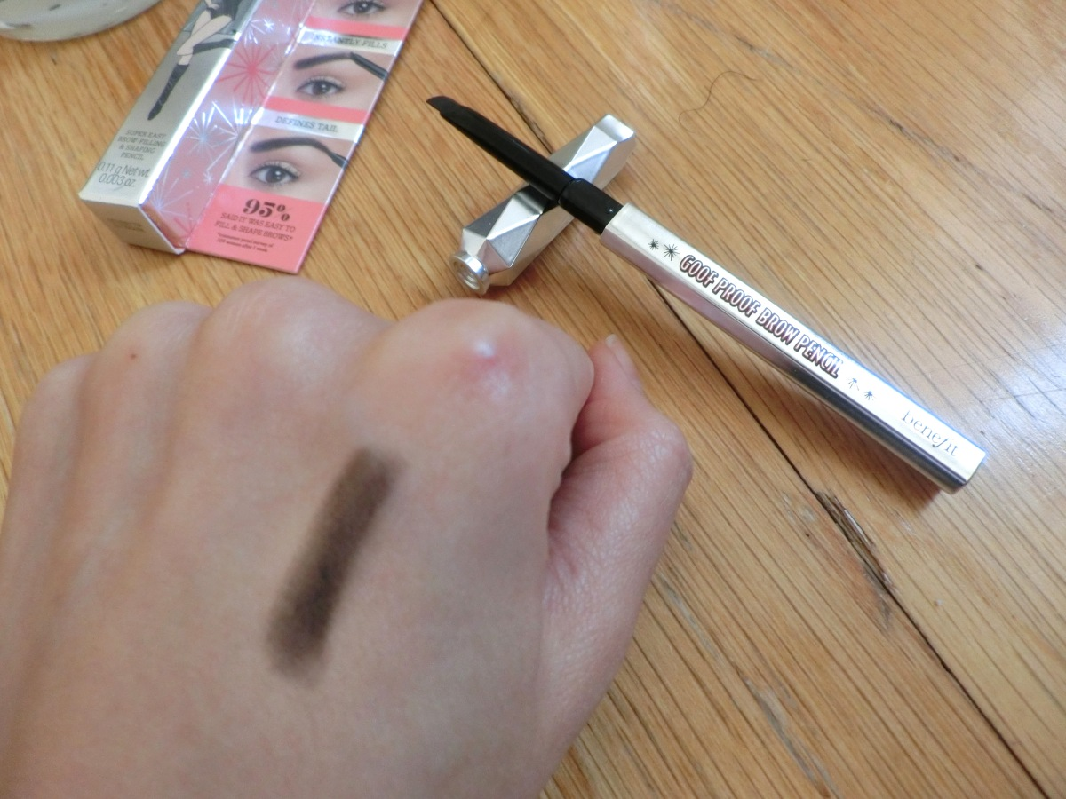 Benefit Goof Proof Brow Pencil pre-launch review