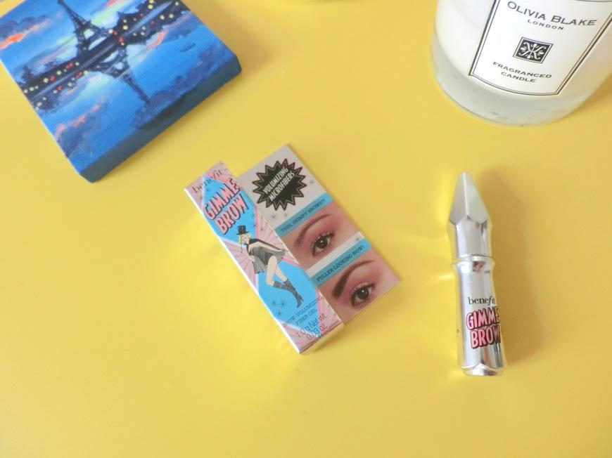 benefit cosmetic Gimme brow volumizing brow gel followmeesh