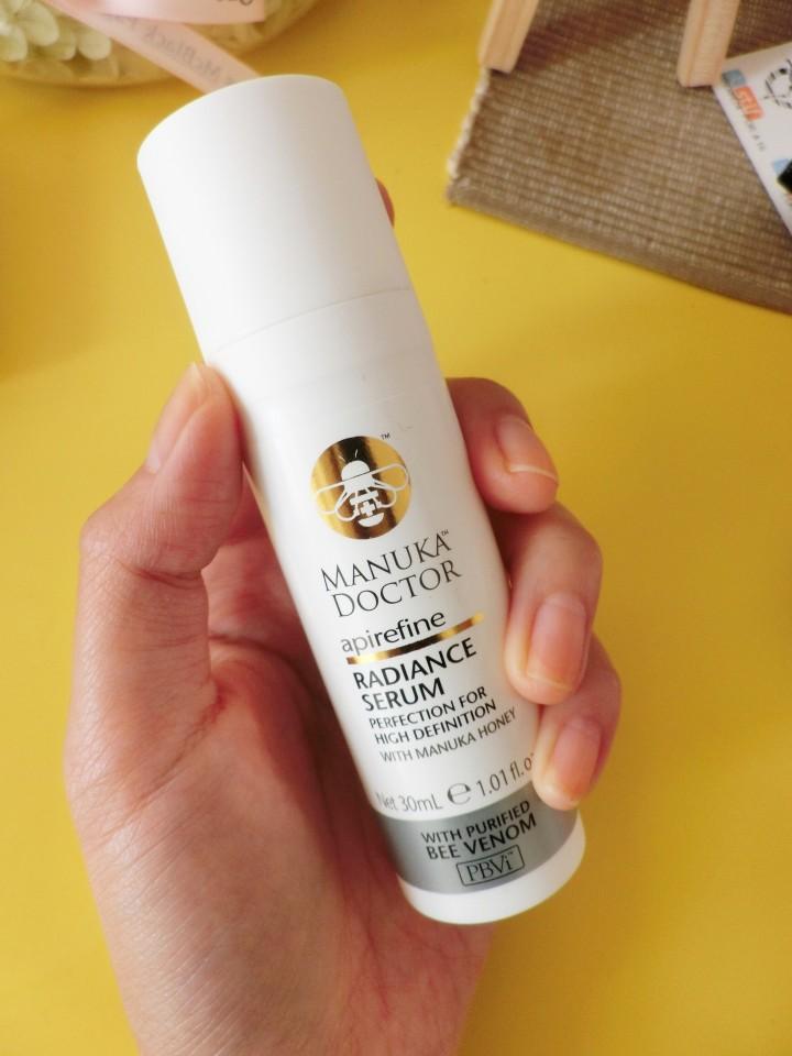 empties - manuka doctor radiance serum review - blog
