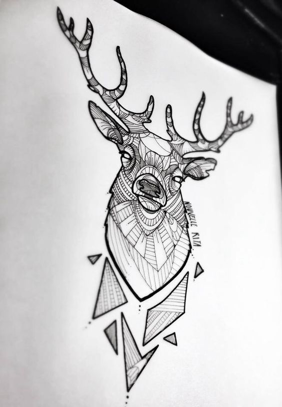 deer-tattoo-4