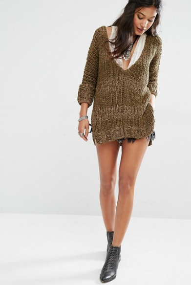 Free People Georgia V Neck Knitted Jumper.png