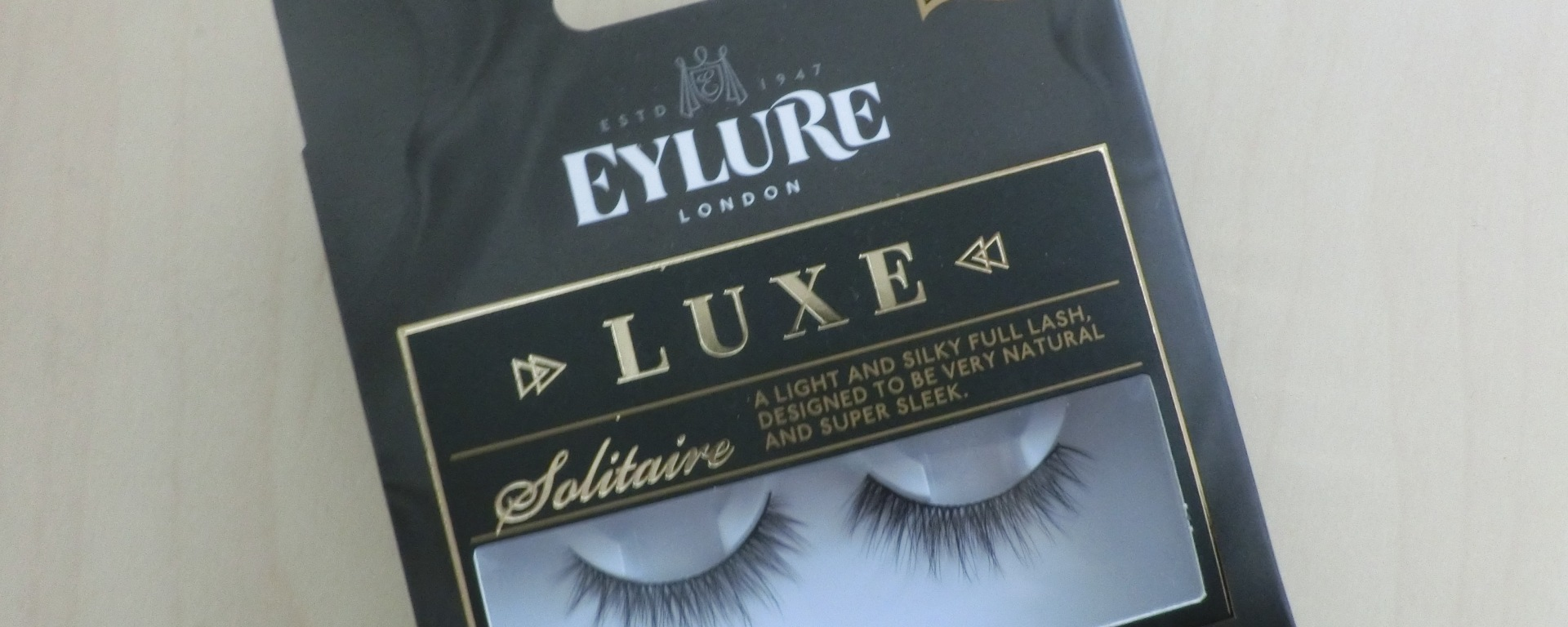 acd5fe29632 Review | Eylure Mink Effect lashes in Solitaire – Follow Meesh ...