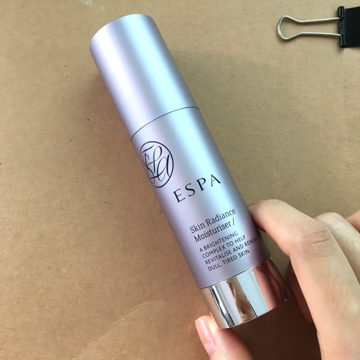 ESPA skin radiance moisturizer review followmeesh