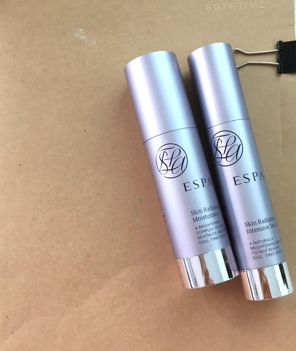 Review | Espa Skin radiance intensive serum and Skin Radiance Moisturiser