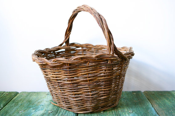 Italian wicker basket