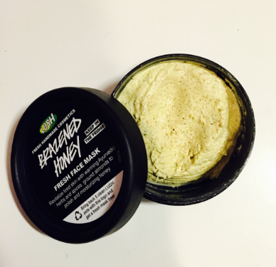 lush brazened honey fresh mask review
