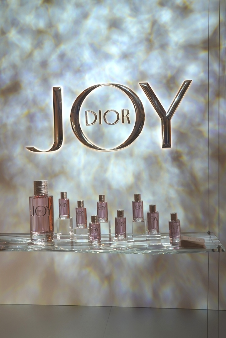 Joy by Dior backdrop