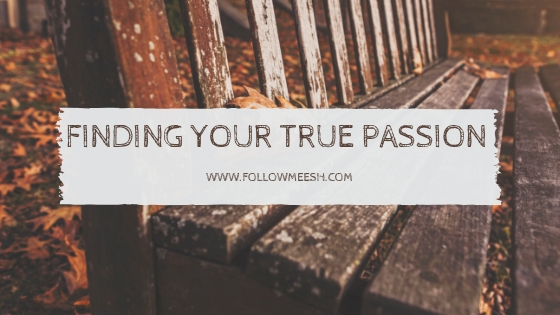 how to find your true passion