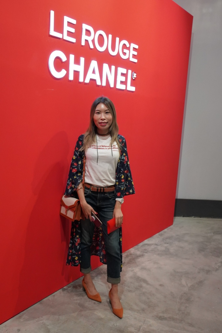 le rouge chanel event hong kong